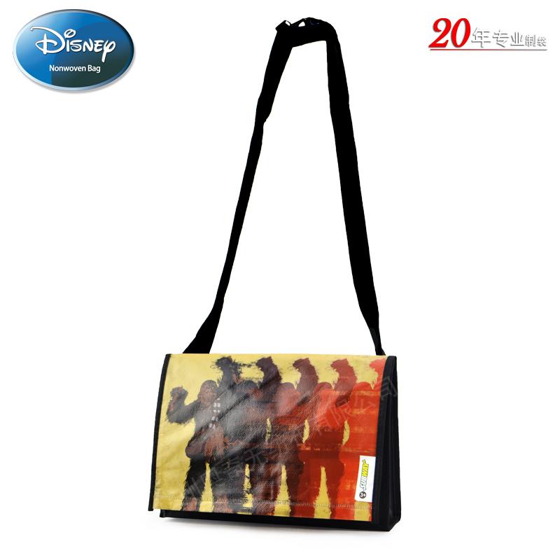 美国迪士尼STAR WARS7电影宣传礼品袋无纺布袋覆膜袋赠品袋Subway Meal Bag