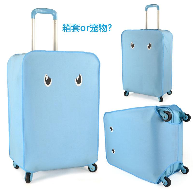 AOK可爱超萌无纺布拉杆箱套旅行箱套防尘套加厚行李箱保护套