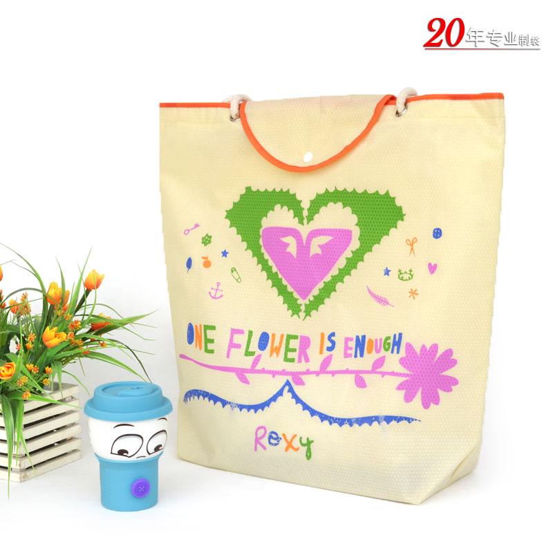 高档球纹服装礼品赠品袋环保袋通用包装手提无纺布袋