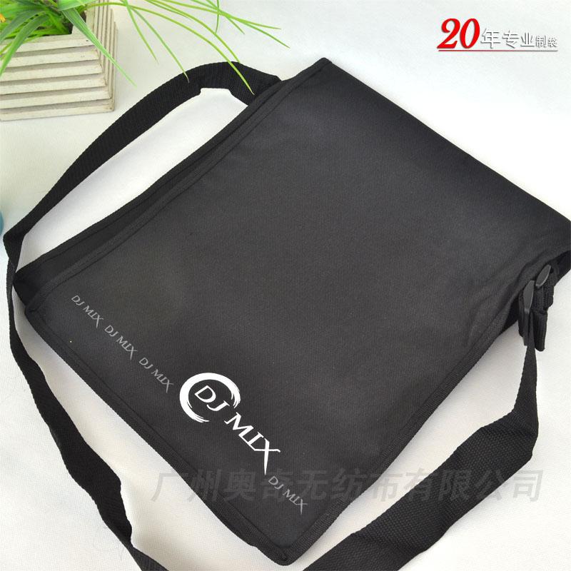 时尚环保黑色休闲挎包袋帆布袋学生书包袋