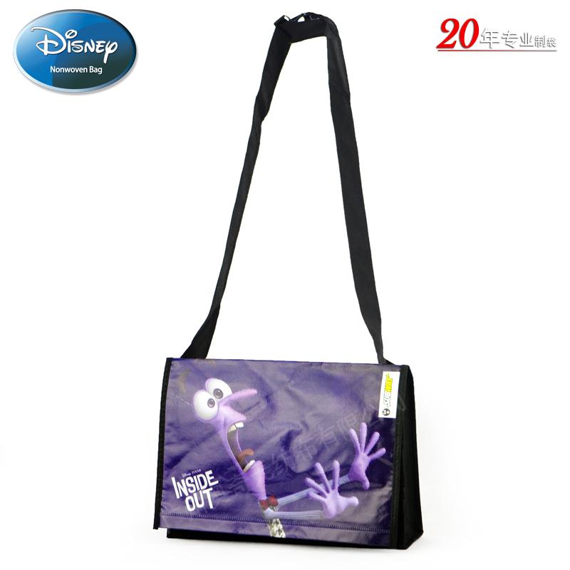 迪士尼Disney Inside Out无纺布覆膜袋电影宣传礼品袋FAMA证书生产厂家