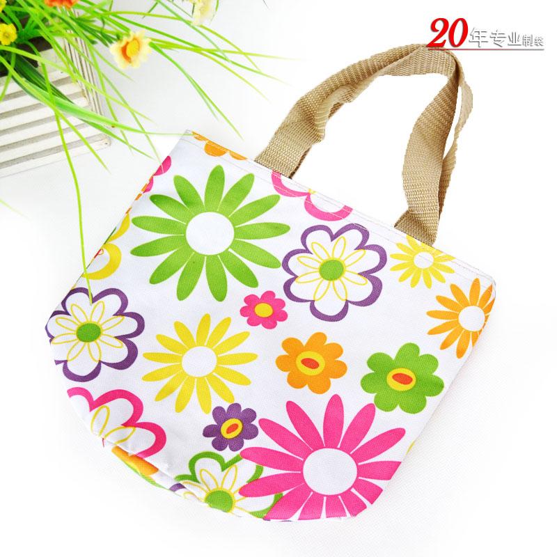 环保时尚可爱帆布袋手提包化妆品包礼品包广州从化厂家专业生产